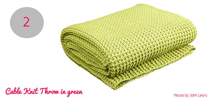 Green Throws For Sofas 100 Cotton Le Lime Green Giant 3 Or