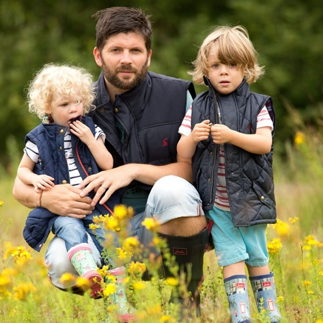 I think daddy and Noah would make for great models #handsome #model #joules #family