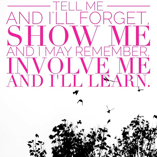 I love this quote... How I feel about teaching my children! #quote #learning #children #involve