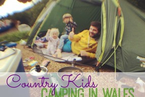#Countrykids: Camping in Wales