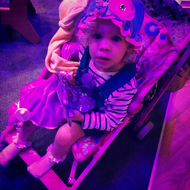 Little mermaid hat. Sofia jelly shoes. Rapunzel soft toy. She has a long Christmas list! #wowee #disneystore