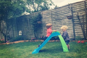(236/365) Tuesday 26th August 2014 – slide fun