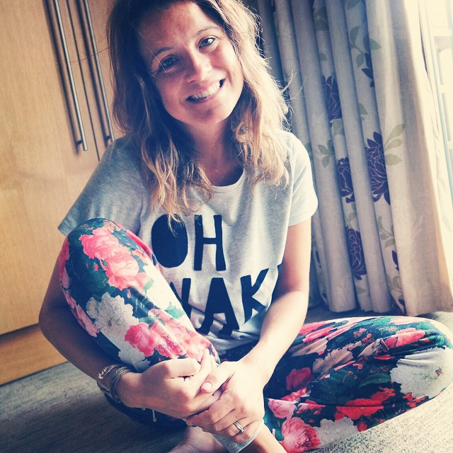 Thank you for my lovely pjs @nextofficial I love them. Definitely want to get back into bed #nextmums #feelinglucky