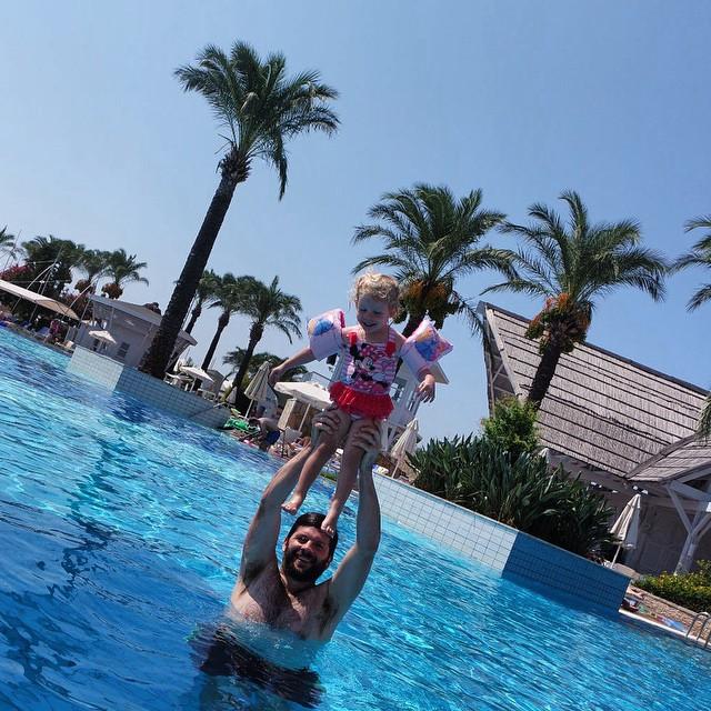 Higher higher higher higher #toddler #fun #holiday #swimming