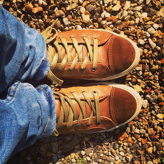Love my tan boots too. Comfortable footwear! #boots #autumn #footwear