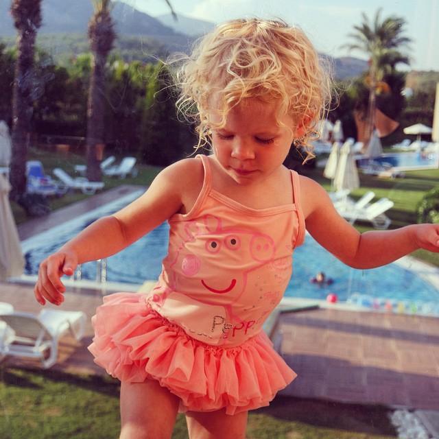 Love my tutu princess... She looks so cute! #toddler #princess