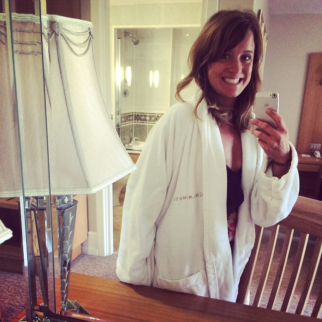 This is me for the next 24 hours... Robe and flip flops :-) and relax. @champneys @nextofficial #nextmums