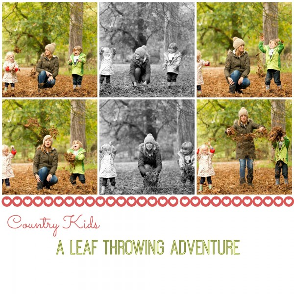 Countrykidsleafthrowing