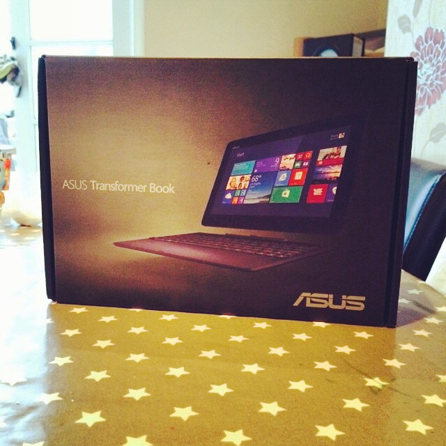 I'm now the proud owner of my very own #windows8 #intel #asus #device. #asust100t