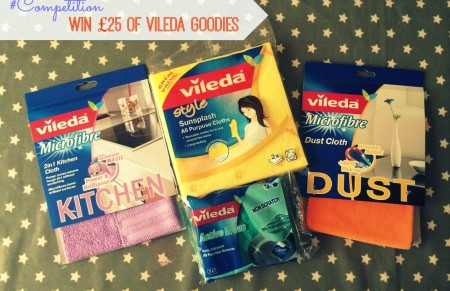 #Competition – Win Vileda cleaning goodies