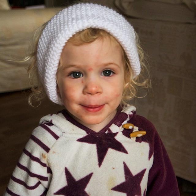 Love my baby girl... Little #snowboarder ?