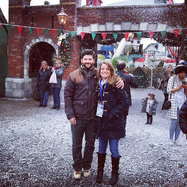 Had a lovely day today with my man and my family. Feeling very lucky and so looking forward to Christmas @deanconstant xxxx