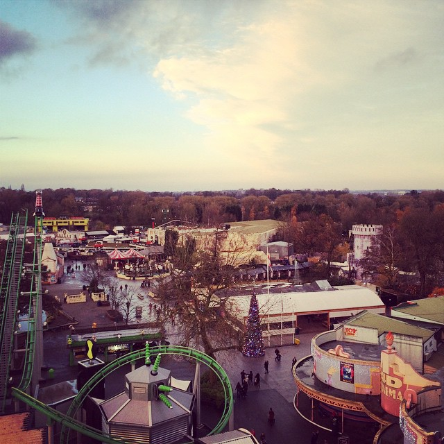@draytonmanor was incredible today, view from the top! #thomasland