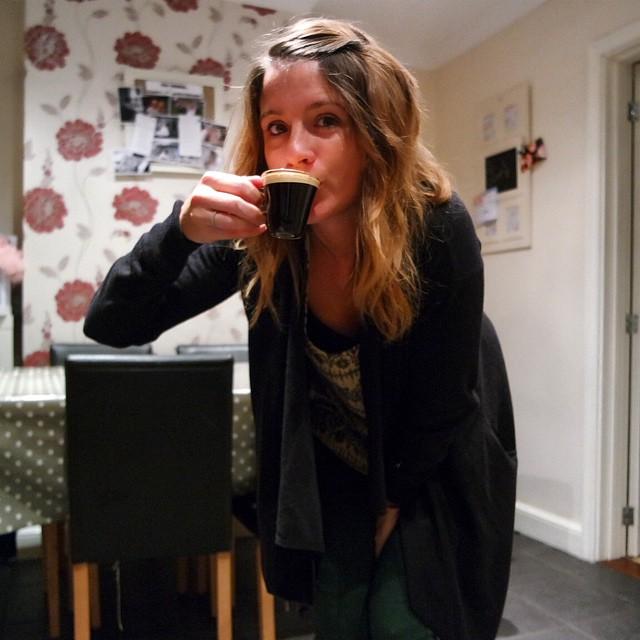 My very first #espresso #dolcegustobloggers #new #ristrettoardendza