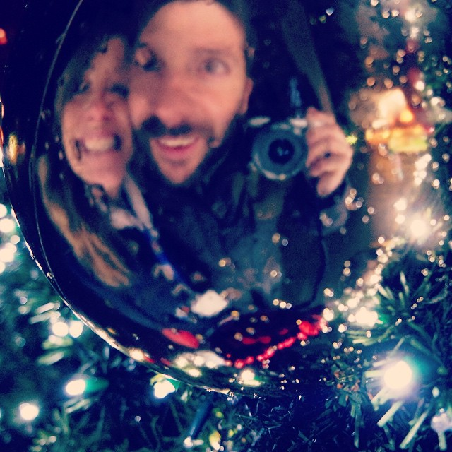 I love my bauble... ? #happy #family #husband