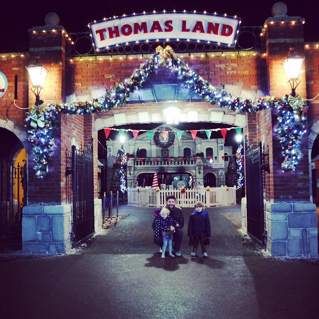 We had a fabulous day today... Thankyou so much @draytonmanor #thomasland #christmas