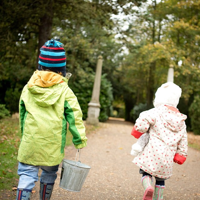 What did everyone get up to this weekend then? We went exploring at our local @nationaltrust place! #outdoorfun