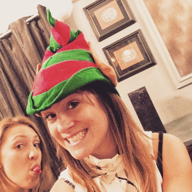 Someone #photobombed my #Elfie @annaefford