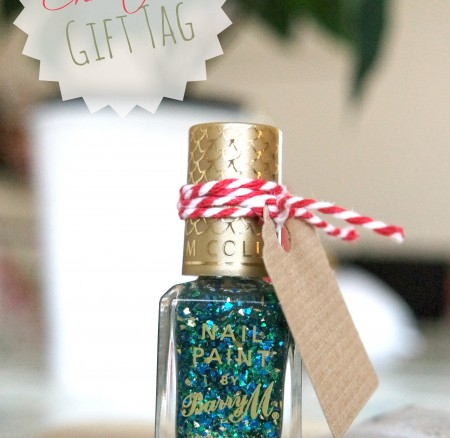 A guide to making Christmas gift tags
