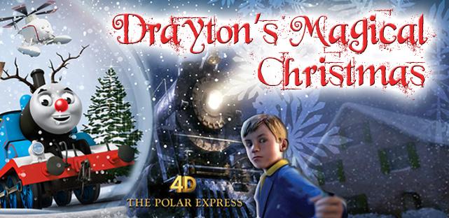 Drayton's Magical Christmas banner 2014