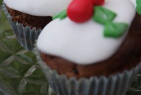 #Recipe – Christmas pudding muffins