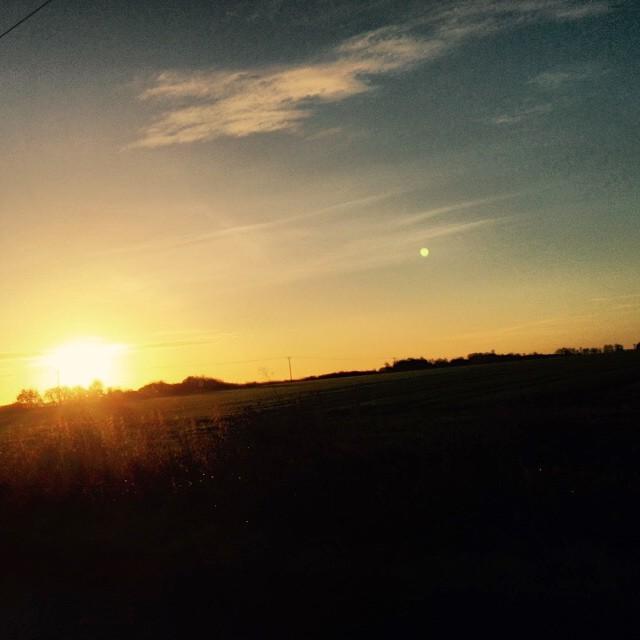 Morning from Cambridgeshire #landscape #sunrise #sunshine