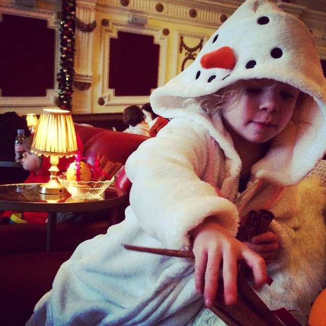 My little #snowman is causing havoc... #myonsieland