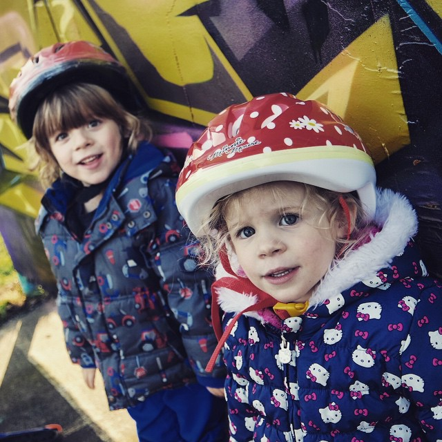 My gorgeous beauties #toddlers #adorable #love #family #happy