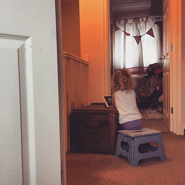 Sitting watching Disney songs on YouTube - singing along. That's my girl! #Disney #fan #singing #toddler #happy #learning #princess