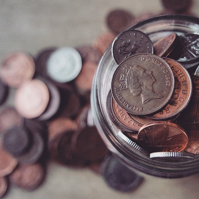 On the blog today: saving money in unusual ways! #scrimping #saving #money #unusual ways