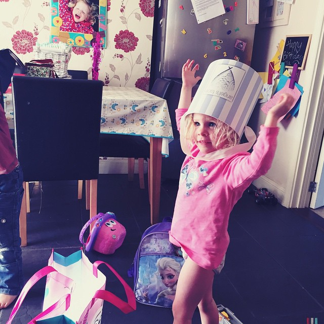 #creative children: new soldiers hat! #play #dressup #imagination #happy #playtime
