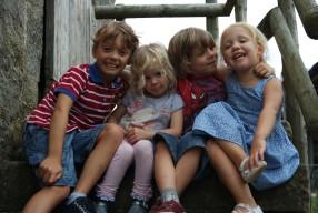 Bank Holiday camping at Barn Farm