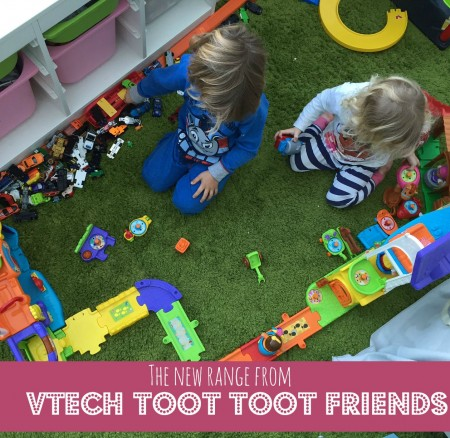 The new range from Vtech: Toot Toot Friends