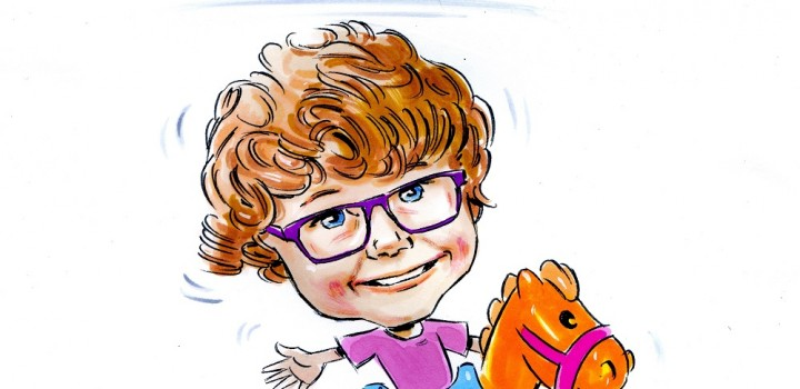 Competition to win a framed caricature with Vtech